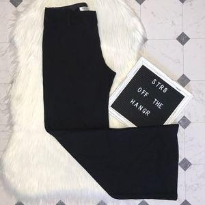Trina Turk black wide leg pants size 2 trousers